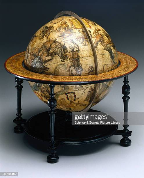 This celestial globe was made by Willem Janszoon Blaeu in Amsterdam Holland The Dutch were the first to make printed globes in large numbers and...