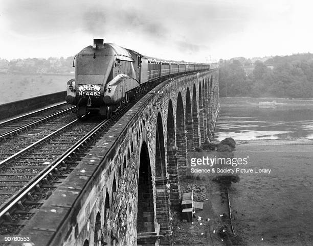 This class A1 462 'Golden Eagle' locomotive number 4482 was built for the London and North Eastern Railway It was used on the �Flying Scotsman�...