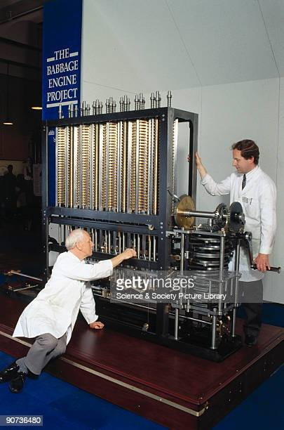 This engine was constructed by the Science Museum in London from designs made by the British computing pioneer Charles Babbage between 1847 and 1849...