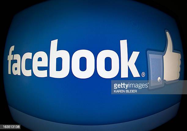 This February 25 2013 photo taken in Washington DC shows the splash page for the Internet social media giant Facebook Those Facebook 'likes' can...