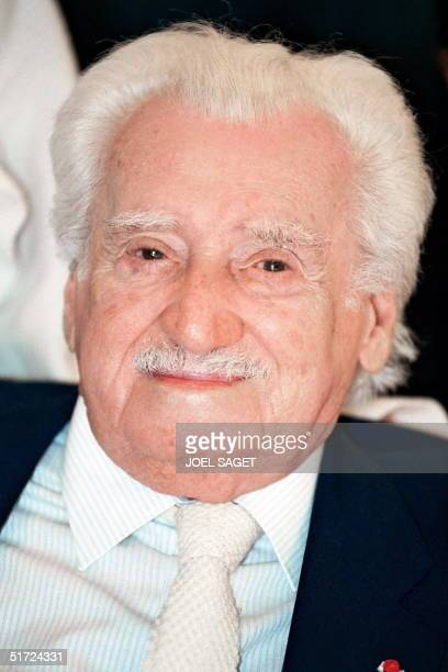 This file photo taken 19 March 1998 shows Brazilian writer Jorge Amado in Paris France Amado died of a heart attack 06 August 2001 in Salvador de...