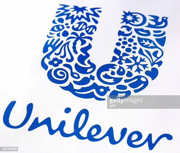 This File picture dated May 01 2007 shows the Unilever logo DutchBritish foodtohousehold products giant Unilever posted a 60 percent rise in net...