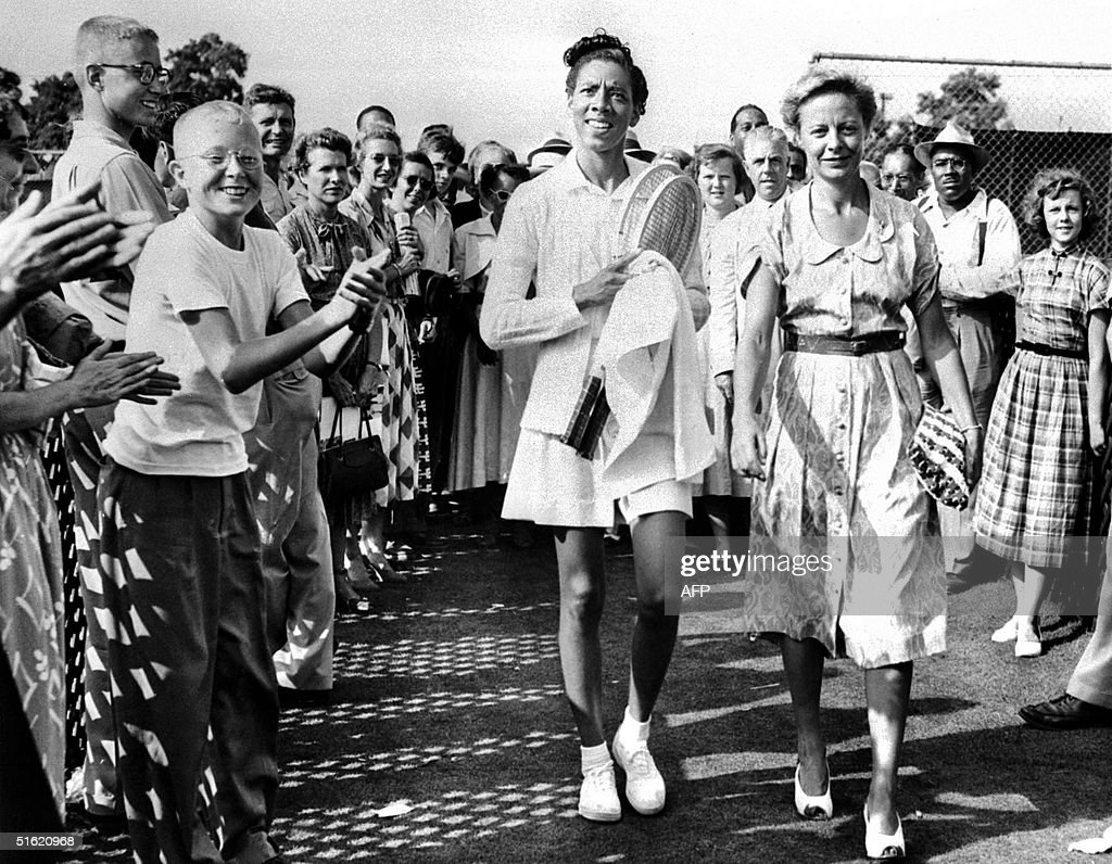 Althea Gibson Is First African American In US Tennis Tour Her