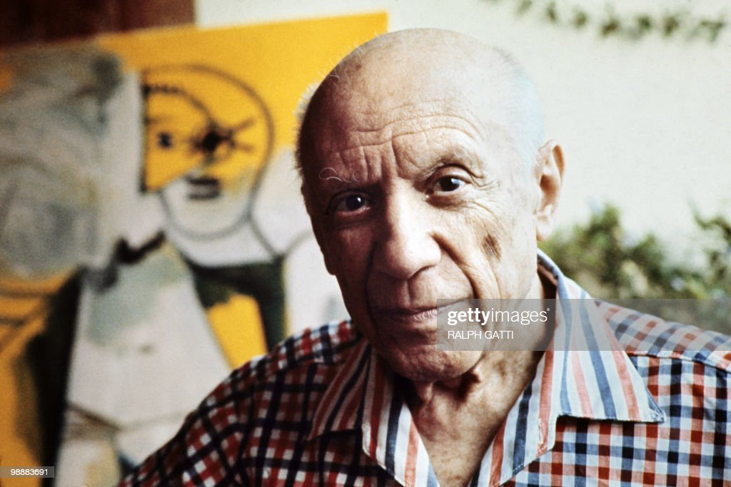 This file pictured dated 13 October 1971 shows Spanish painter <a gi-track='captionPersonalityLinkClicked' href=/galleries/search?phrase=Pablo+Picasso&family=editorial&specificpeople=85469 ng-click='$event.stopPropagation()'>Pablo Picasso</a> in Mougins, France. The town of Guernica will commemorate next 26 April 2007 the 70th anniversary of the 1937 bombing by planes of the German Luftwaffe 'Condor Legion' and subordinate Italian Fascists from the Corpo Truppe Volontarie expeditionary force during the Spanish Civil War which resulted in widespread destruction and civilian death. AFP PHOTO/RALPH GATTI