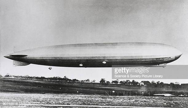 This German passenger airship was 776 feet long and 100 feet in diameter with a volume of 3000 cubic feet It employed a revolutionary new fuel system...