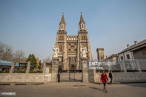 This Gothic Revival church is reminiscent of Notre Dame de Paris The main building covers 1650 square meters and can accommodate about 800 people The...