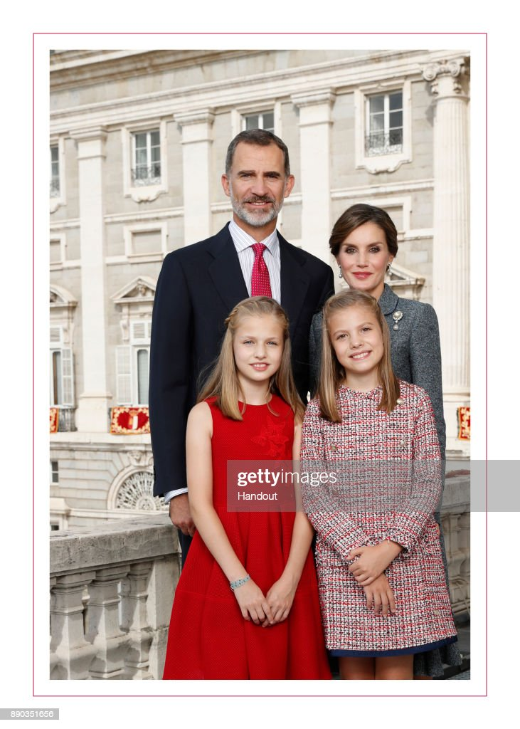 Spanish Royals Christmas Cards 2015