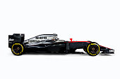 This handout image supplied by McLarenHonda shows A general view of the McLarenHonda MP430 during the launch of the car on January 29 2015 in Woking...