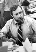 This image courtesy of The New York Times shows New York Times correspondent Sydney Schanberg in New York on June 15 1976 Schanberg the Pulitzer...
