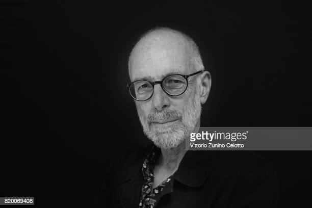 EDITORS NOTE This image has been converted in black and white Director Gabriele Salvatores poses for a portrait session during Giffoni Film Festival...