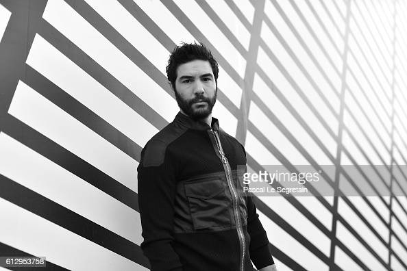This image has been converted to Black and White Tahar Rahim attends the Louis Vuitton show as part of the Paris Fashion Week Womenswear...