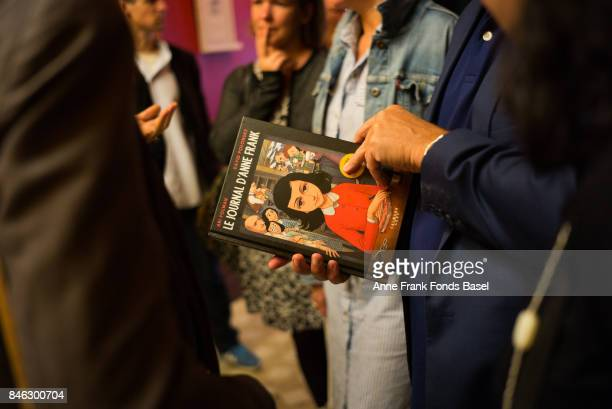 This image is copyright of Patrick Zachmann/Magnum Photos and is provided courtesy of Clair Gallery FRANCE Paris launch event for the 'Graphic Diary...
