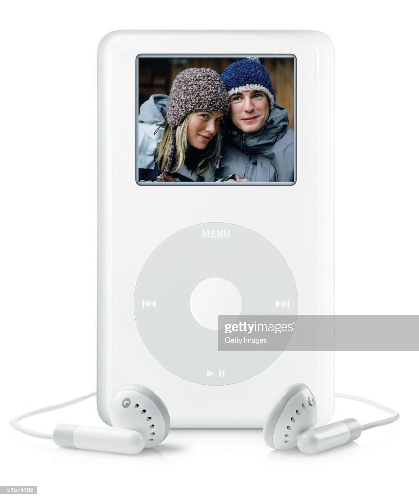 This image released by Apple on October 26 2004 shows the new iPod photo which in addition to its music library can hold up to 25000 digital photos...