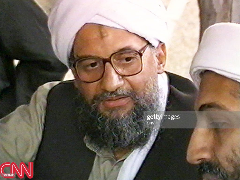 This image taken from a collection of videotapes obtained by CNN shows Ayman AlZawahiri second in command of the terrorist network al Qaeda speaking...