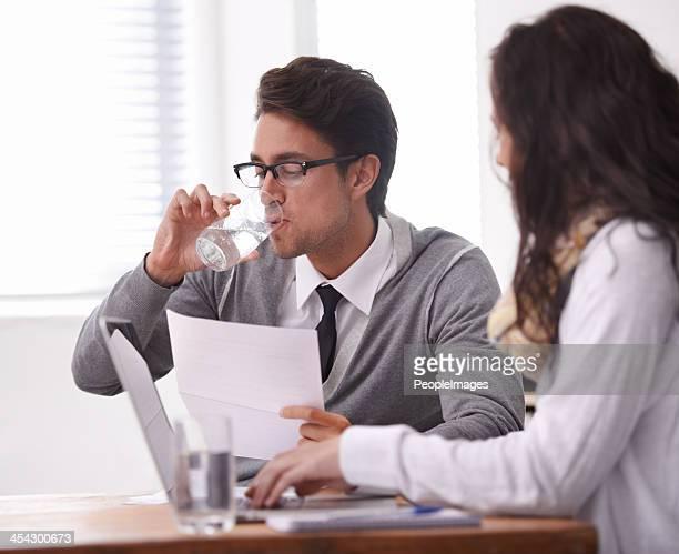 Das interview ist mir eine chemische Mund