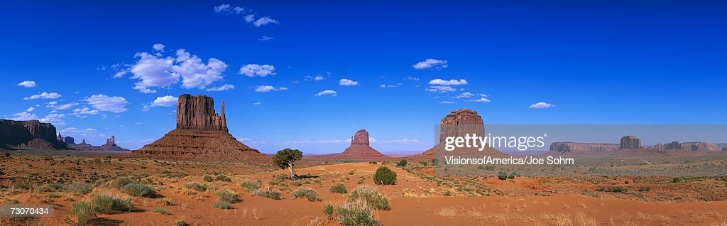 This is a 360 degree panoramic image of Monument Valley Navajo Tribal Park.