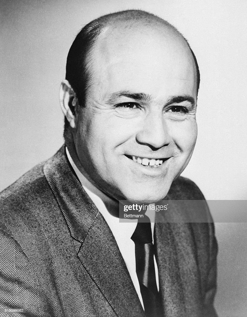 This is a close-up of Joe Garagiola, the New York Yankee sportscaster.