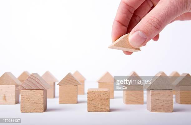 Dies ist eine Konzeptionelle Idee für Gebäude beherbergt.