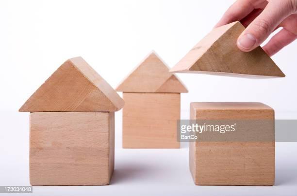 C'est un concept idée de la construction de maisons.