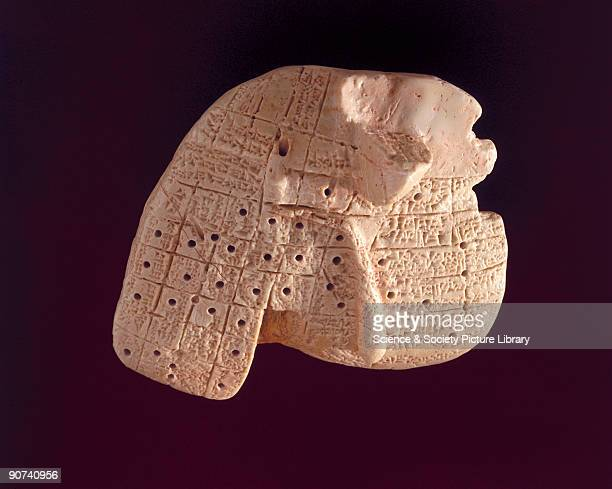 This is a replica of a 6cm clay model sheep's liver dating from 20501750 BC which was used for divination Mesopotamian medicine laid great stress on...