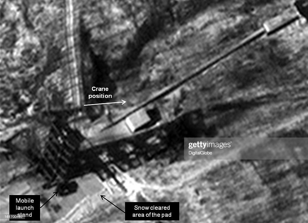 This is a satellite image of activity at the old launch pad at the Tonghae facility in North Korea. http://38north.org/2013/02/tonghae021413/
