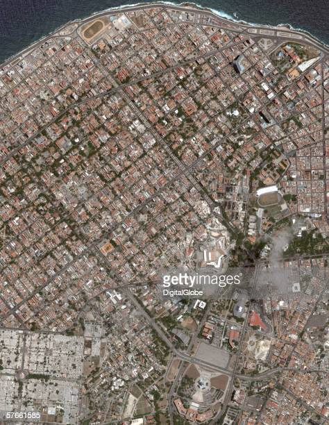 This is a satellite image of Havana Cuba collected on May 19 2005