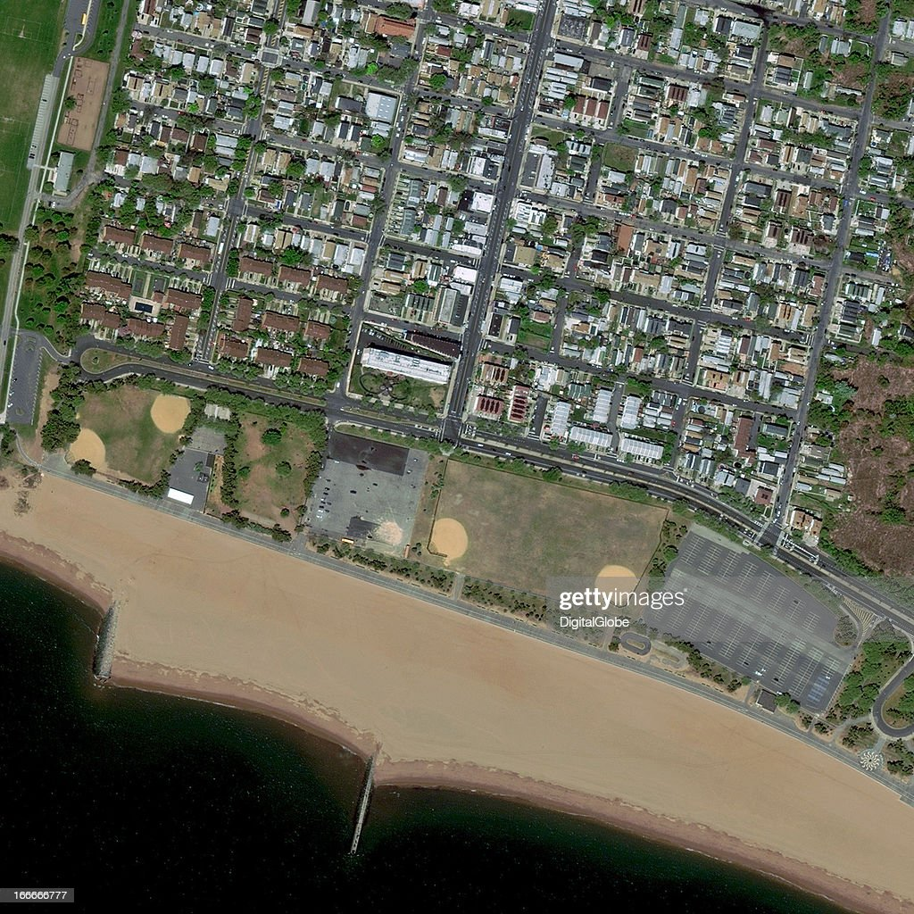 This is a satellite image of Midland Beach, New York, United Sates collected on April 19, 2012.