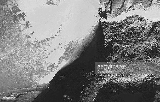 This is a satellite image of Mount Ararat collected on Februrary 1 2003