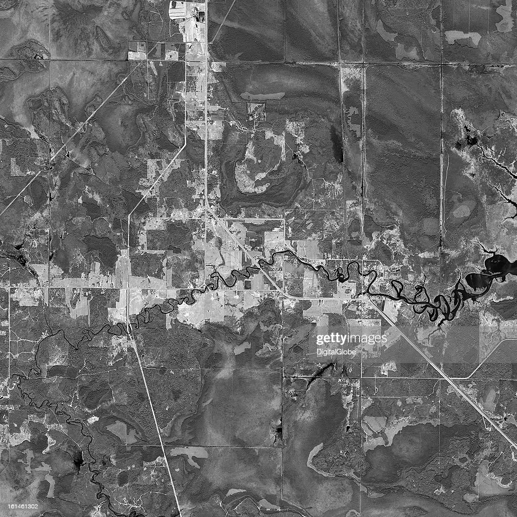 This is a satellite image of Rainy Lakes, Minnesota, United States collected on April 26, 2012.