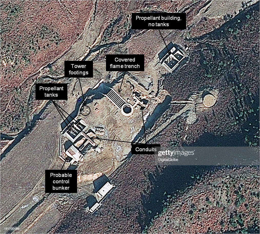 This is a satellite image of the new launch pad under construction at the Tonghae facility in North Korea. http://38north.org/2013/02/tonghae021413/