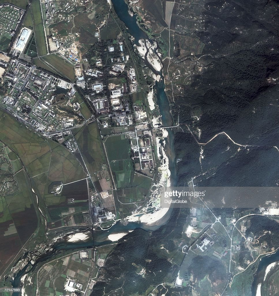 This is a satellite image of Yongbyon North Korea collected on September 14 2006