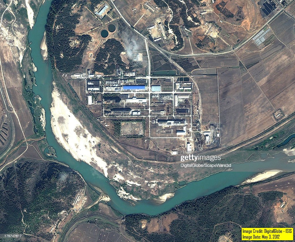 This is an overview satellite image of the Yongbyon, North Korea Fuelfab from May 3rd, 2012.