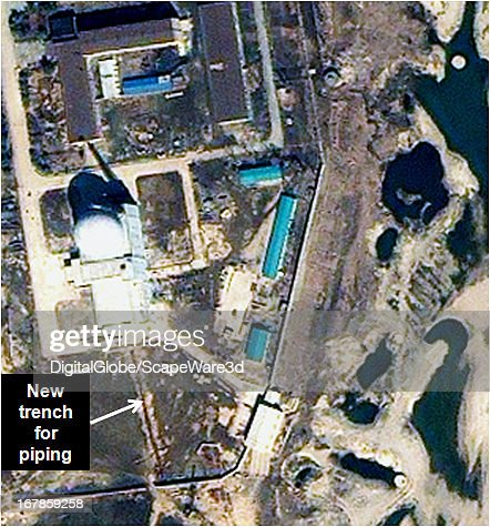 This is Figure 10 a time progression of the experimental light water reactor development at the Yongbyon Nuclear Facility in North Korea Featured in...