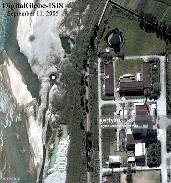 This is Figure 2 DigitalGlobe imagery of North Korea's 5MWe Reactor at the Yongbyon Nuclear Site