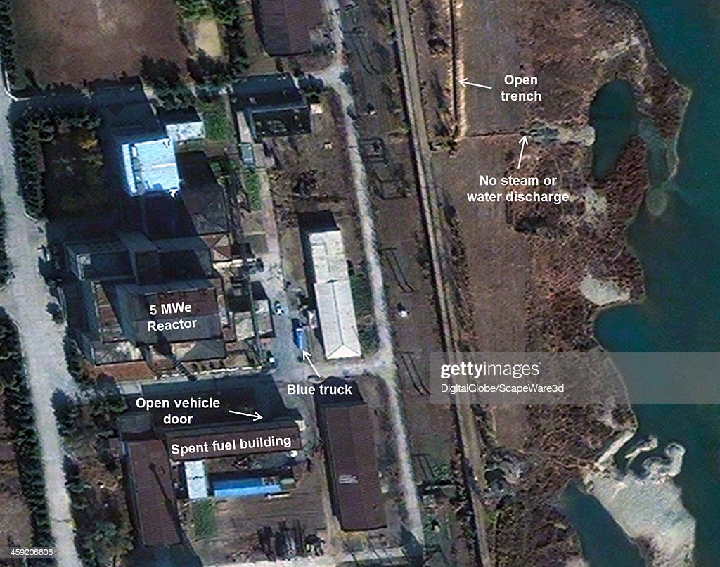 This is Figure 2 DigitalGlobe imagery of the 5 MWe Reactor shows little change in early November published on 38 North