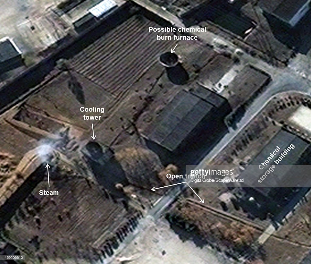 This is Figure 3 DigitalGlobe imagery shows new activity seen at the Radiochemical Laboratory Note image rotated published on 38 North