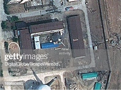 This is Figure 5 Water tanks have been buried next to the spent fuel storage building on April 19 2013 published on 38 North