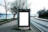 Billboard, Template, Bus Shelter, Advertisement