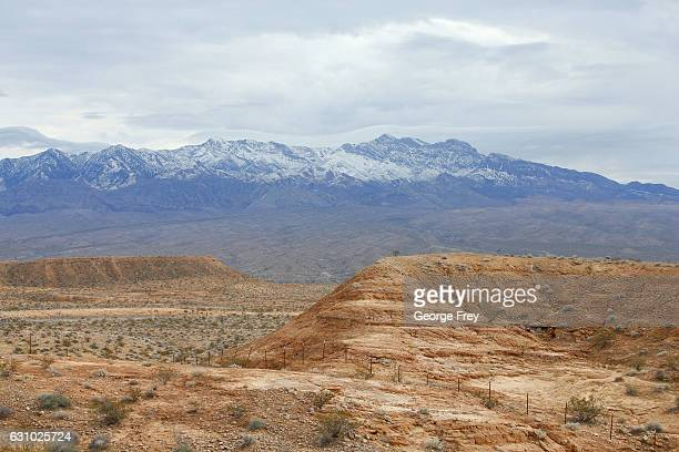 This is land on the northern end of the newly created Gold Butte National Monument on December 30 2016 outside Mesquite Nevada President Obama...