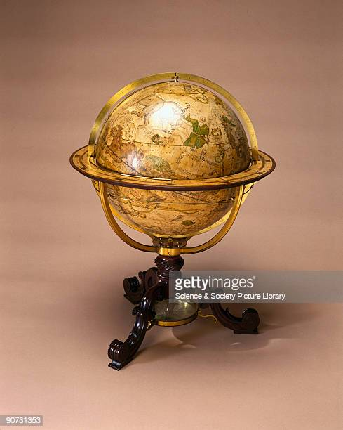 This is one of a pair of globes made by George Adams instrument maker to the king and is dedicated to King George III 'the most generous and...