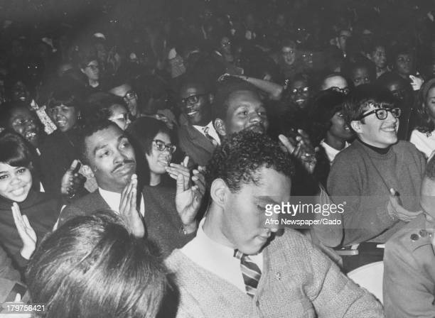 This is the audience at a Stokely Carmichael speech at historically AfricanAmerican Morgan State University Baltimore Maryland 1967