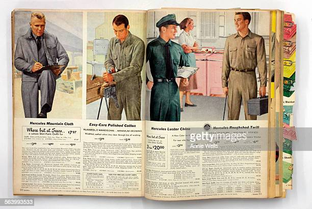 This is the fall/winter Sears catalog from 1957 – men in uniforms 11/13/07