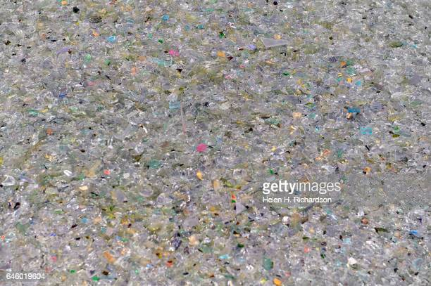 This is the final product of newly recycled glass ready to be shipped at the new state of the art Momentum Recycling plant on February 27 2017 in...
