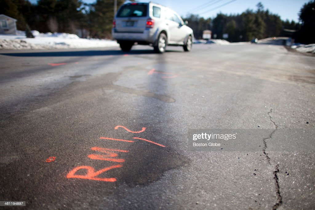 This is the intersection where Brookline, NH firefighter Stephen Whitcomb arrived at the scene of a fatal car crash and found out that the victim was his daughter, Katie Hamilton.