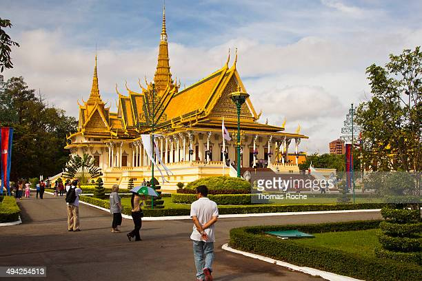 CONTENT] This is the Throne Hall in the Royal Palace in Phnom Penh Cambodia which is used for royal ceremonies and for greeting the King's guests