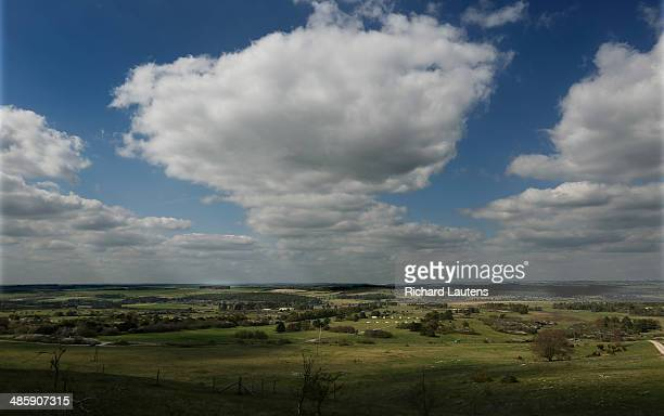 This is the training area and firing range the Canadians used on the Salisbury Plain in southern England for the first world war At the outbreak of...