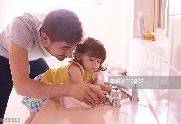 Esta es la manera de lavarse las manos