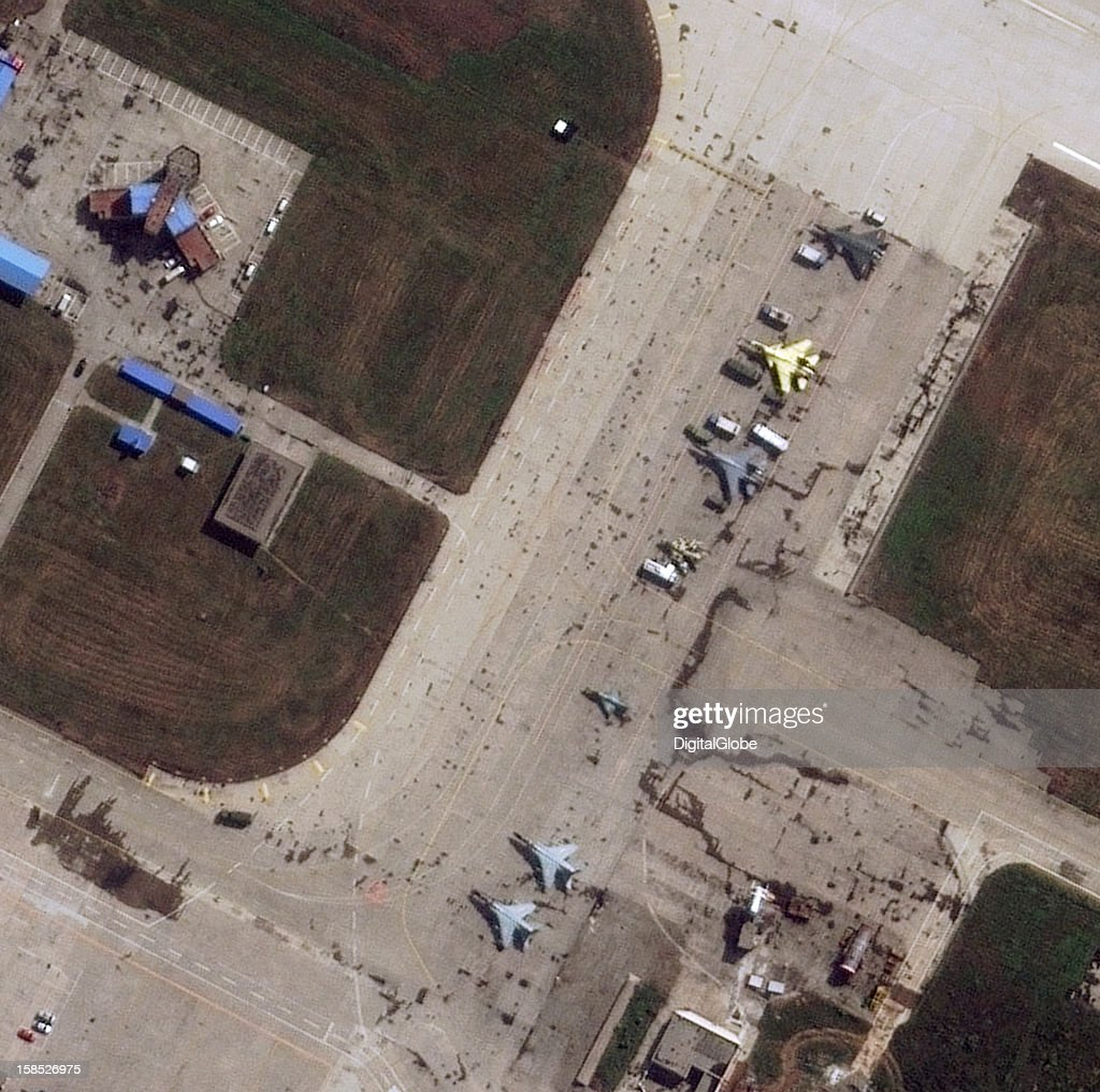 This is the Xi'an Aircraft Company aka Xi'an Aircraft Industrial Corporation (XAC), a developer and manufacturer of medium and large-sized aircraft. This satellite image shows several fighters including a J-20 (dark grey), J-15 (yellow), J-11, J-7, JH-7 and the J-6.
