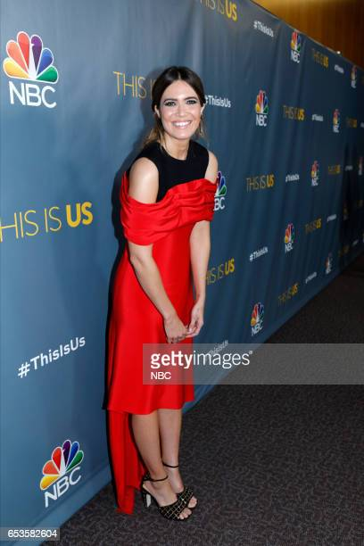 US 'This is Us' Finale Event at The DGA Los Angeles March 14 2017 Pictured Mandy Moore