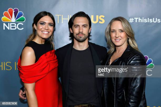 US 'This is Us' Finale Event at The DGA Los Angeles March 14 2017 Pictured Mandy Moore Milo Ventimiglia Jennifer Salke President NBC/NBCU Photo Bank...